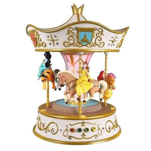 2021 Disney - Dreams Go Round Carousel Hallmark ornament (QFM3355)