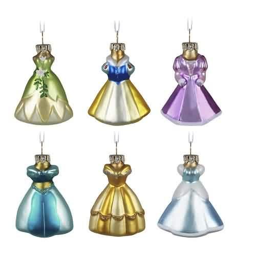 2021 Disney - Fit For A Princess Ornament Set Hallmark ornament (QSB6132)