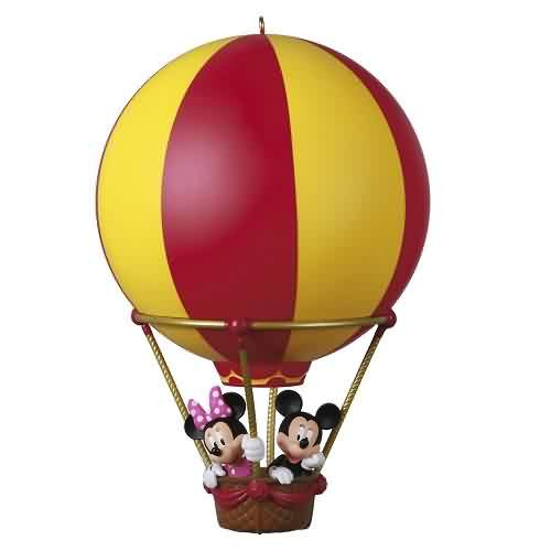 2021 Disney - High Flying Friends Mickey and Minnie Hallmark ornament (QXD6552)