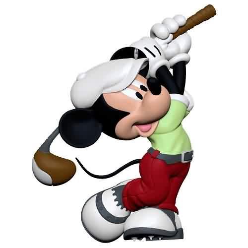 2021 Disney - In the Swing - Mickey Mouse - Ltd Hallmark ornament (QXE3275)