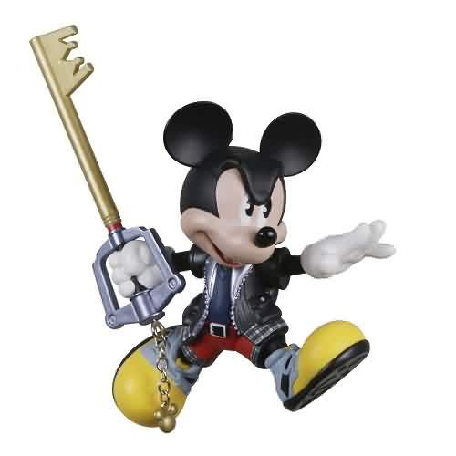 2021 Disney - King Mickey - Kingdom Hearts Hallmark ornament (QXD6535)