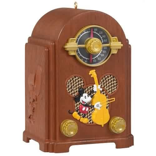 2021 Disney - Mickey Mouse Radio Hallmark ornament (QXD6432)