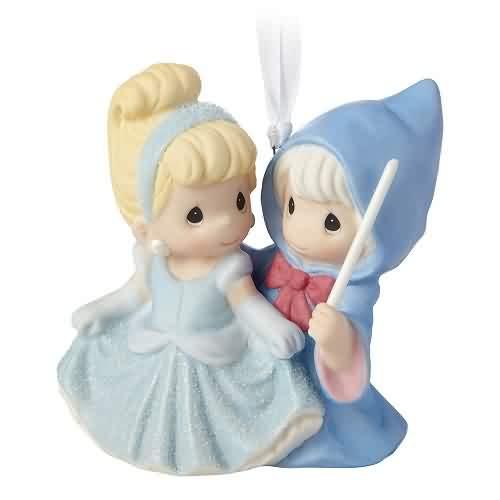 2021 Disney - PM - Cinderella and Fairy Godmother - Ltd Hallmark ornament (QXE3205)