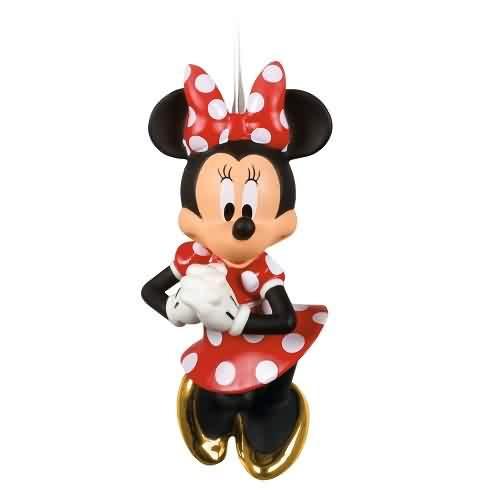2021 Disney - Positively Minnie Minnie Mouse Hallmark ornament (QK1302)