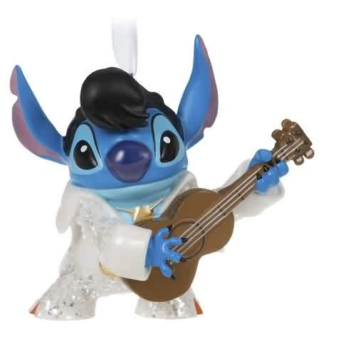 2021 Disney - Rockstar Stitch Lilo and Stitch Hallmark ornament (QK1362)