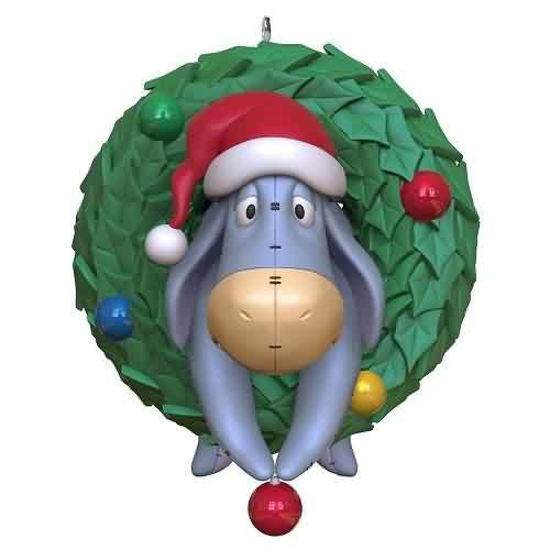 2021 Disney - Winnie the Pooh - O Christmas Eeyore Hallmark ornament (QXD6462)