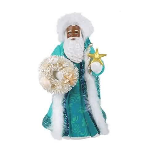 2021 Father Christmas - African American Hallmark ornament (QSM7852)