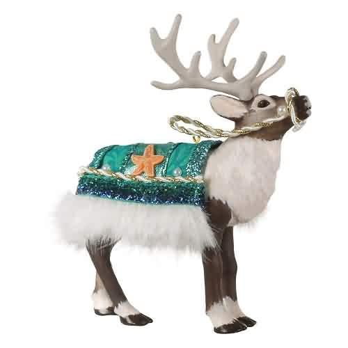 2021 Father Christmas - Reindeer - Ltd Hallmark ornament (QXE3245)