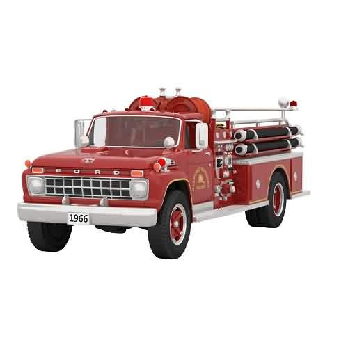 2021 Fire Brigade #19 - 1966 Ford Fire Engine Hallmark ornament (QXR9262)