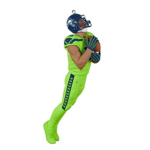 2021 Football - Tyler Lockett Seahawks Hallmark ornament (QXI7355)
