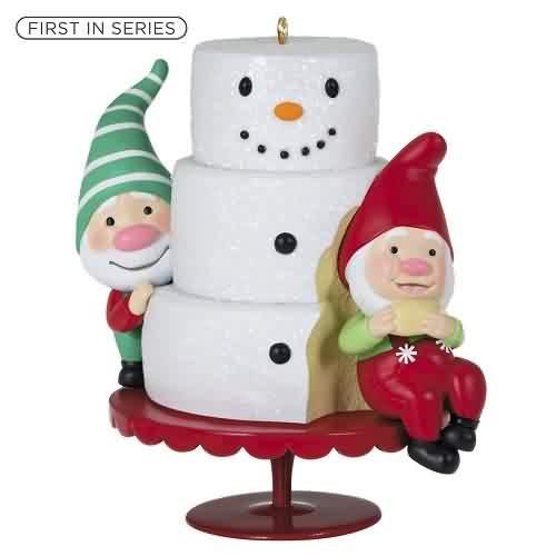 2021 Gnome For Christmas #1 Hallmark ornament (QXR9065)