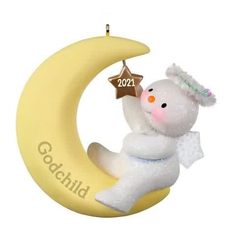2021 Godchild Hallmark ornament (QGO2082)