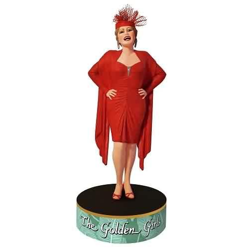 2021 Golden Girls - Blanche Devereaux Hallmark ornament (QXI7412)