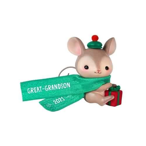 2021 Great-Grandson Hallmark ornament (QGO2035)