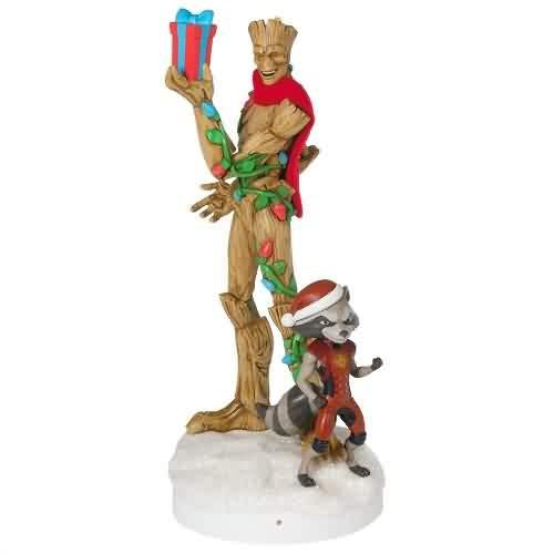 2021 Guardians Of The Galaxy Peekbuster Hallmark ornament (QXI7485)