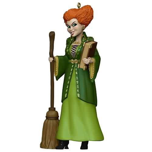 2021 Halloween - Disney - Winifred Sanderson - Hocus Pocus Hallmark ornament (QFO5315)