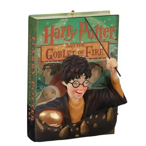 2021 Harry Potter And The Goblet Of Fire Hallmark ornament (QXI7062)