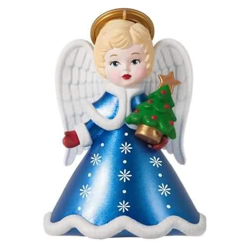 2021 Heirloom Angels #6 Hallmark ornament (QXR9012)