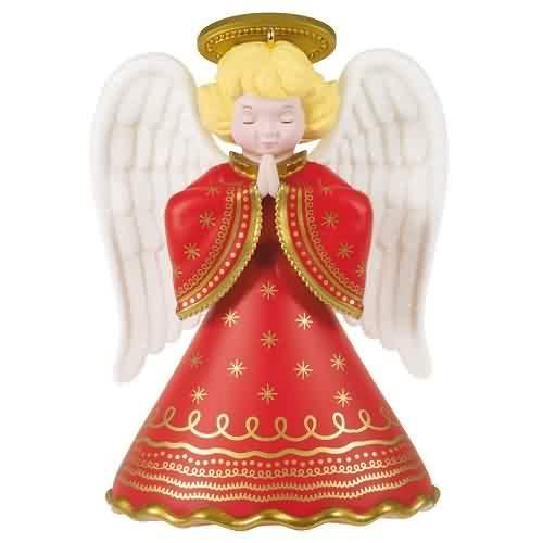2021 Heirloom Angels Surprise Hallmark ornament (QGO2095)