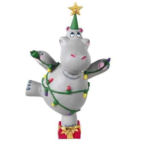2021 I Want A Hippopotamus for Christmas Hallmark ornament (QGO2142)