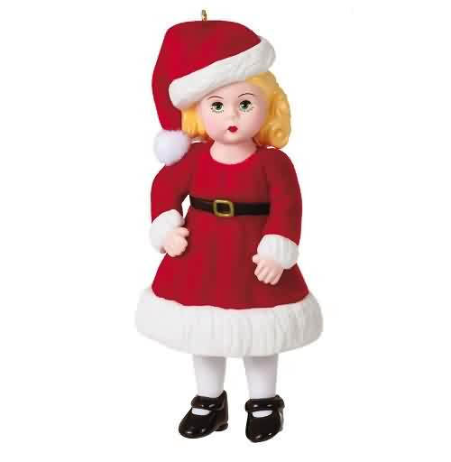 2021 Madame Alexander #26 - Jolly And Joyful Wendy Hallmark ornament (QXR9145)