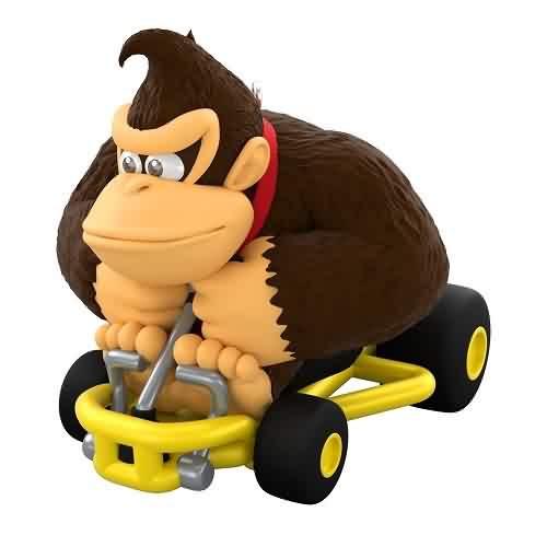 2021 Mario Cart - Donkey Kong Hallmark ornament (QXI7452)