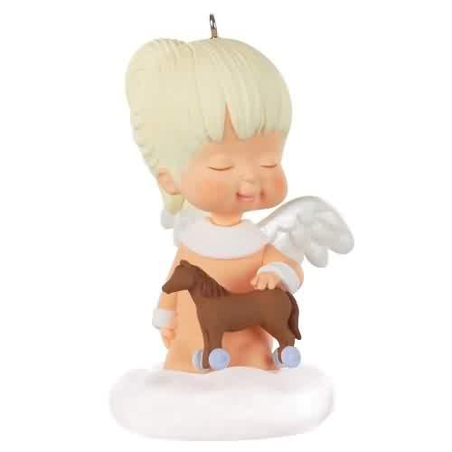 2021 Marys Angel #34 - Acacia Hallmark ornament (QXR9005)