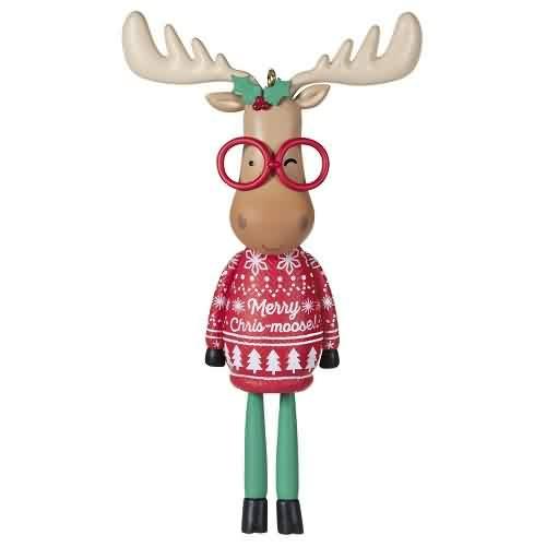 2021 Merry Chris-Moose Hallmark ornament (QXT4102)
