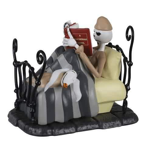 2021 Nightmare Before Christmas - Bedtime Stories Hallmark ornament (QXD6562)