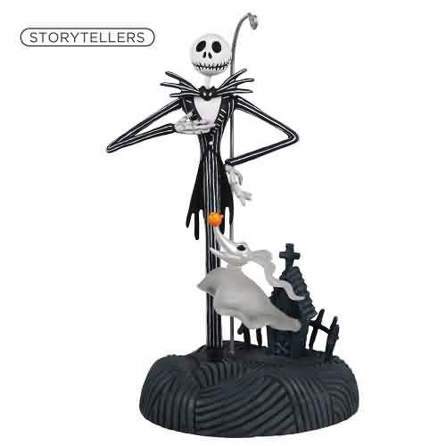 2021 Nightmare Storyteller - Jack Skellington Hallmark ornament (QXD6594)