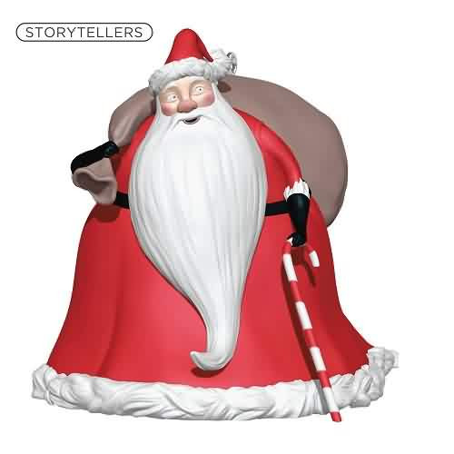 2021 Nightmare Storyteller - Santa Claus Hallmark ornament (QXD6604)