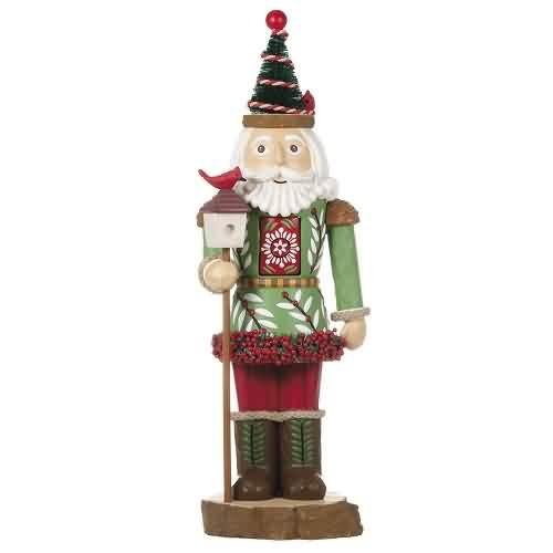 2021 Noble Nutcracker - Table Topper Hallmark ornament (QFM3375)