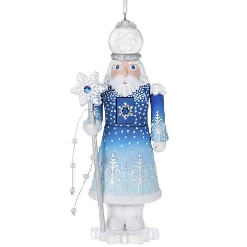 2021 Noble Nutcracker #3 - Duke Of Winter Hallmark ornament (QXR9042)