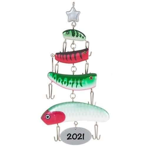 2021 O Fishmas Tree Hallmark ornament (QGO2345)