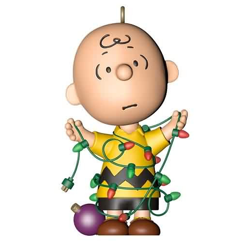 2021 Peanuts - All Tangled Up - Ltd Hallmark ornament (QXE3242)