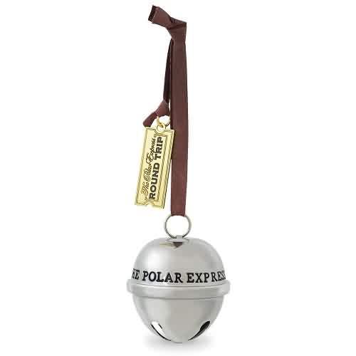 2021 Polar Express - Santas Sleigh Bell Hallmark ornament (QXI7045)