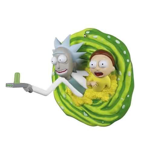 2021 Rick and Morty - Oh Geez Rick Hallmark ornament (QXI7122)