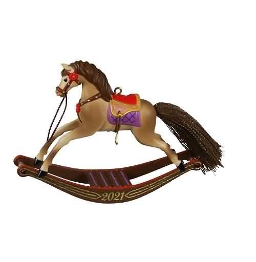 2021 Rocking Horse Memories #2 Hallmark ornament (QXR9202)