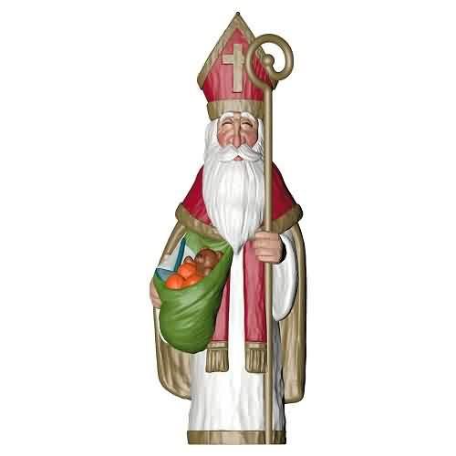 2021 Saint Nicholas Hallmark ornament (QGO1685)