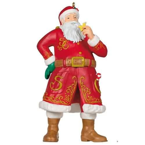 2021 Santa Claus Hallmark ornament (QXT4115)