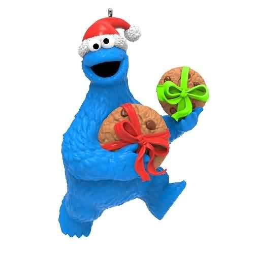 2021 Sesame Street - Cookie Monster Hallmark ornament (QXI7195)