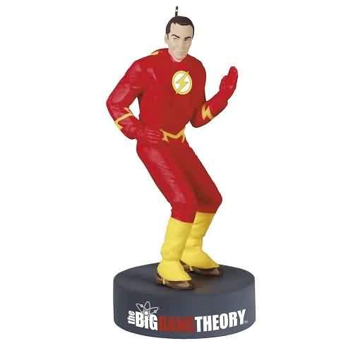 2021 Sheldon Cooper Flash Big Bang Hallmark ornament (QXI7612)