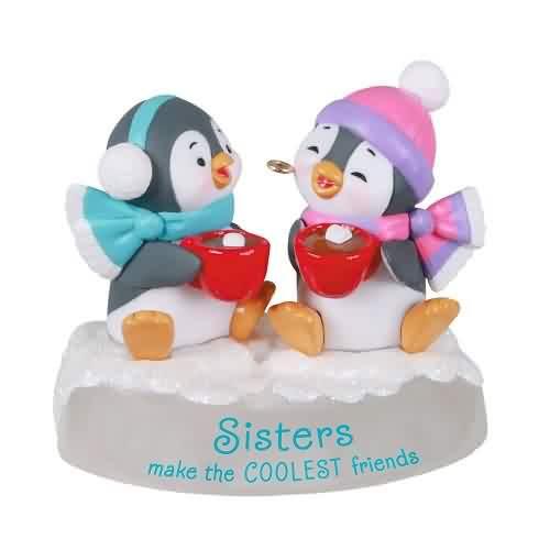 2021 Sisters And Friends Hallmark ornament (QGO2042)
