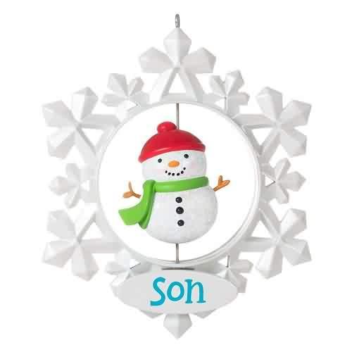 2021 Son Hallmark ornament (QGO2015)