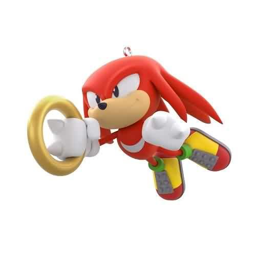2021 Sonic the Hedgehog - Knuckles - Ltd Hallmark ornament (QXE3262)