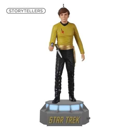 2021 Star Trek Storyteller - Ensign Pavel Chekov Hallmark ornament (QXI7005)