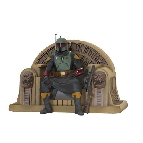 2021 Star Wars - Boba Fett - The Mandalorian Hallmark ornament (QXI7632)
