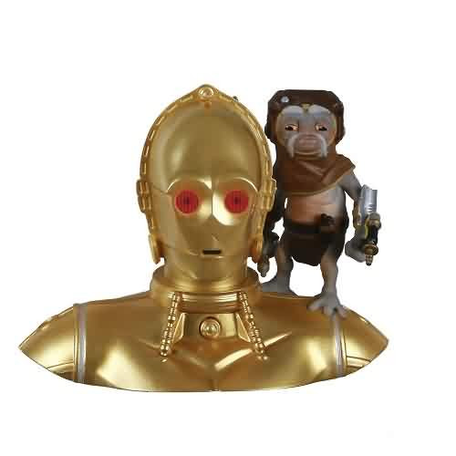 2021 Star Wars - C-3PO And Babu Frik - The Rise of Skywalker Hallmark ornament (QXI7582)