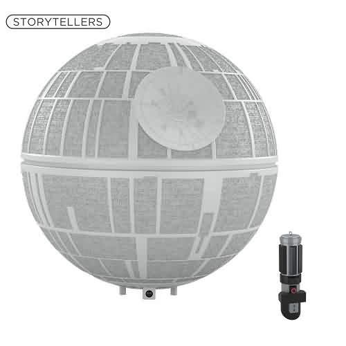 2021 Star Wars - Death Star Tree Topper - A New Hope Hallmark ornament (QFM3362)