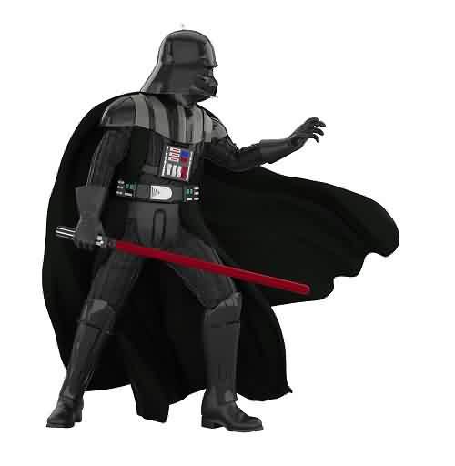 2021 Star Wars #25 - Darth Vader - Empire Strikes Back Hallmark ornament (QXR9285)